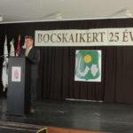 Bocskaikert önálló községé válásának 25. évfordulóját ünnepeltük